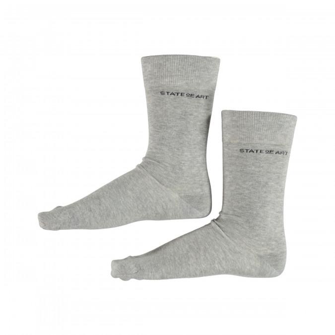 Socks-Plain---silvergrey-plain