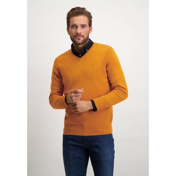 Jumper-of-organic-cotton-with-brand-logo---mango-plain