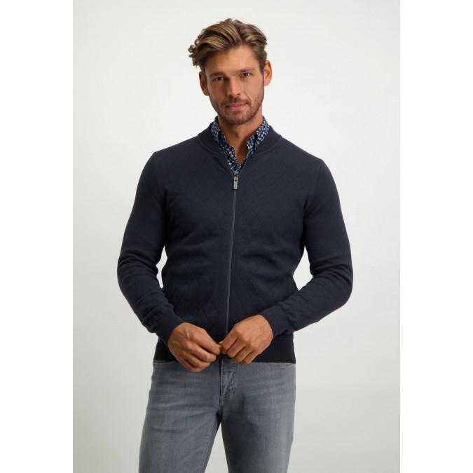 Bomber-style-cardigan-with-zip---midnight/cobalt