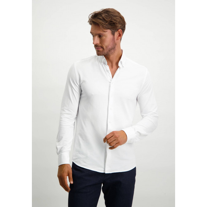 Functional-shirt-in-polyamide-(nylon)---white-plain