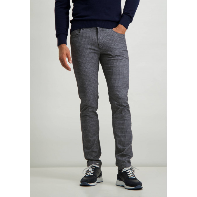 Stretch-trousers-with-digital-print---silver-grey/midnight