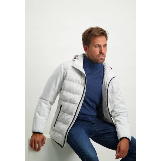 Short-jacket-with-detachable-hood---off-white-plain