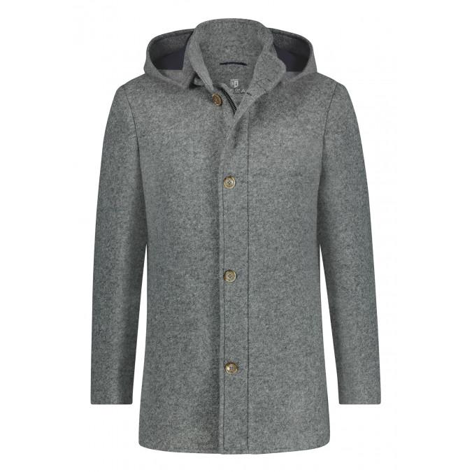 Mid-length-hooded-jacket---silvergrey-plain