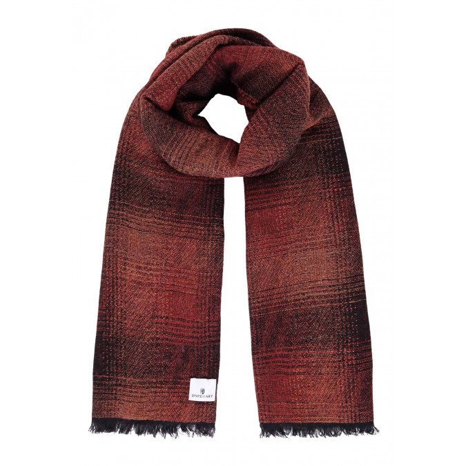 Scarf-with-tassels-at-the-ends---brick/midnight