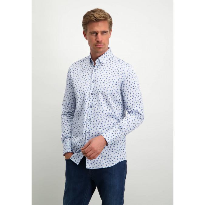 Modern-Classics-button-down-shirt---white/cobalt