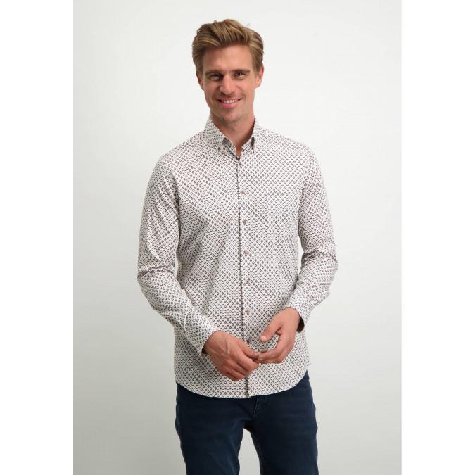 Modern-Classics-button-down-shirt---white/cognac