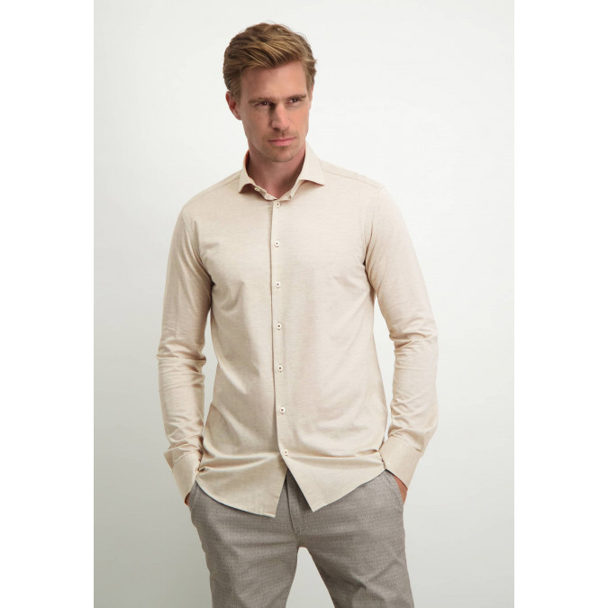 Modern-Classics-overhemd-met-modern-fit---cognac-uni