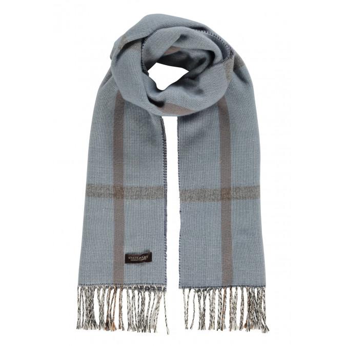 Modern-Classics-sjaal-met-ruiten---middenblauw/donkerblauw