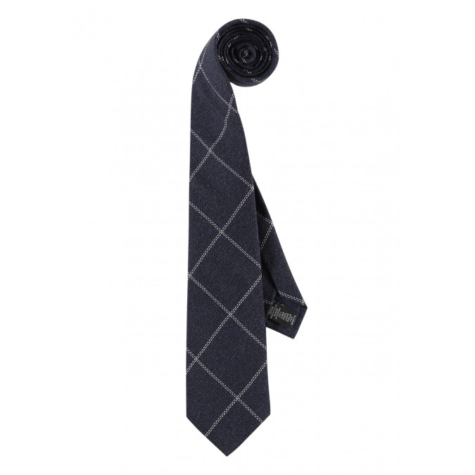 Modern-Classics-chequered-tie---dark-blue/off-white