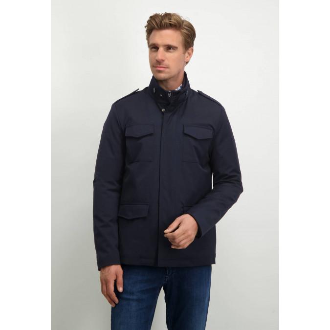 Modern-Classics-field-jacket---dark-blue-plain