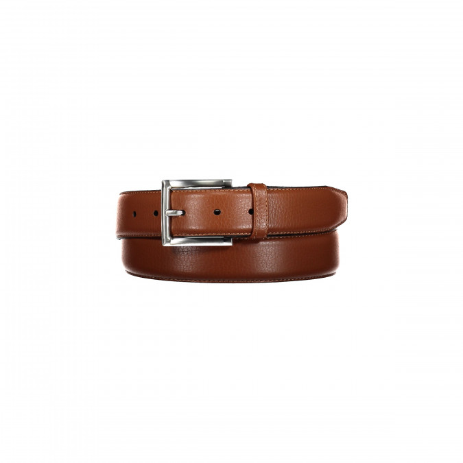 Leather-belt-with-a-nickel-free-buckle---cognac-plain
