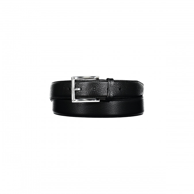 Leather-belt-with-a-nickel-free-buckle---black-plain