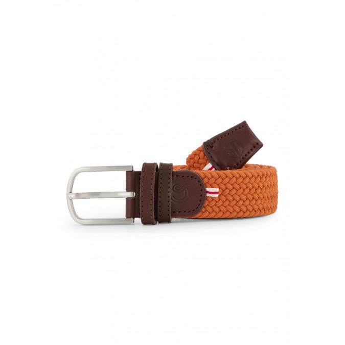 La-Boucle-belt---orange-plain