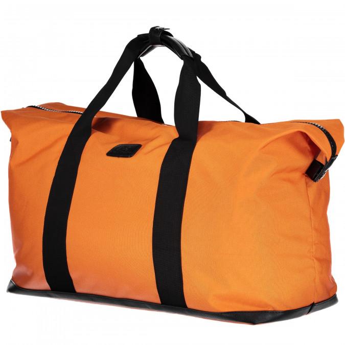 Weekend-Bag-made-of-Canvas-Nylon---brick-plain