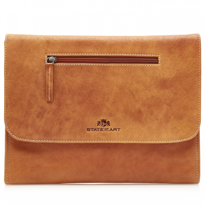 iPad-sac-messager---cognac-monochrome