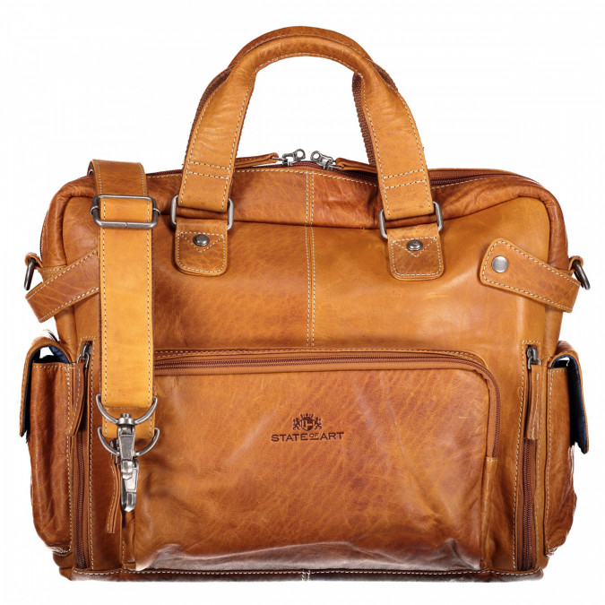 "Business-case-met-14""-laptopvak---cognac-uni"