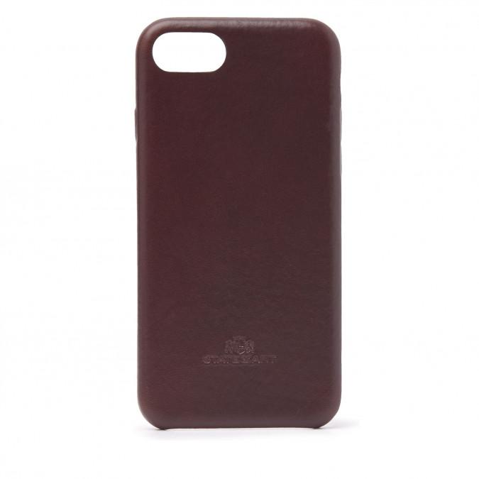 Phone-case-for-iPhone-8---dark-brown-plain