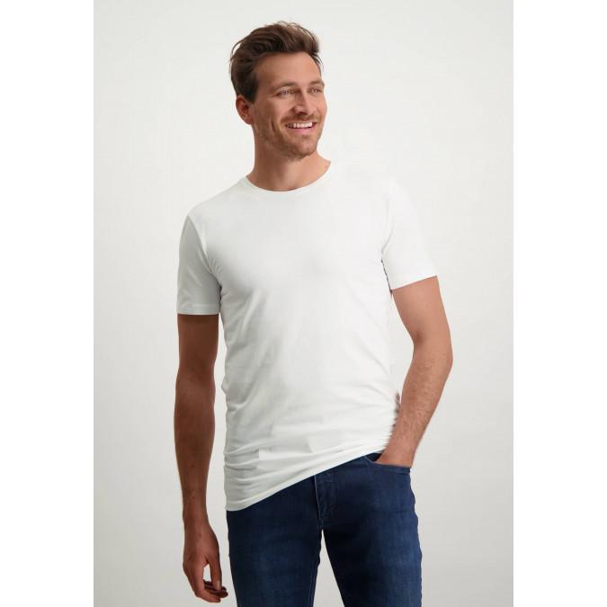 White-T-Shirt-with-Crew-Neck---white-plain