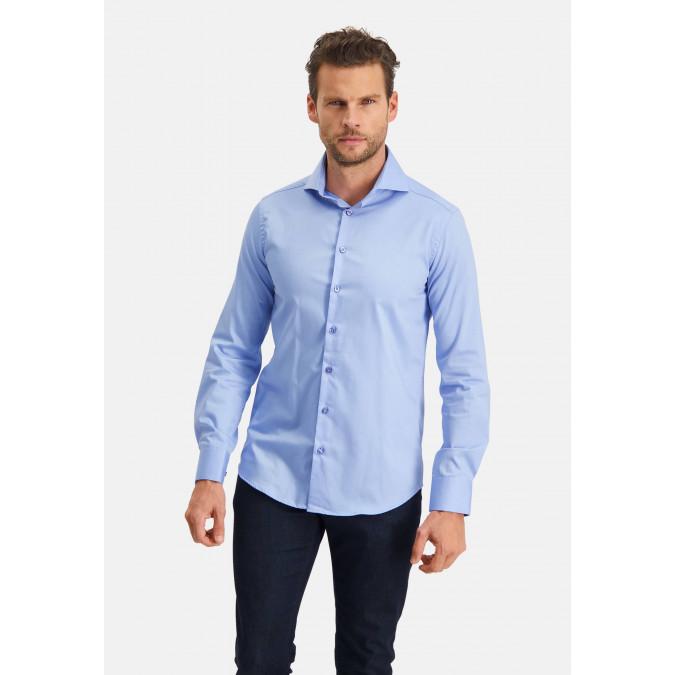 Modern-Classics-Easy-Care-shirt---blue-plain