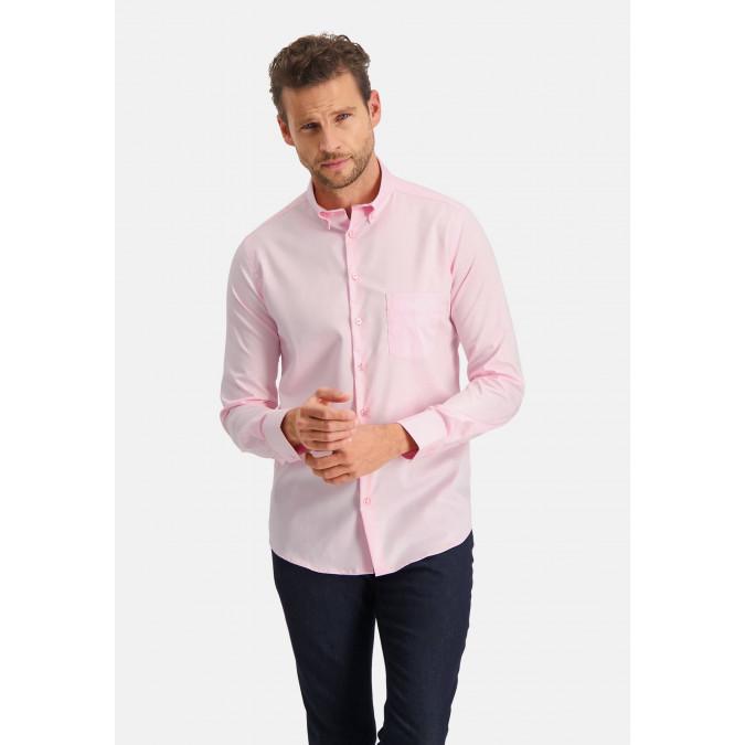 Modern-Classics-shirt-Easy-Care---pink-plain